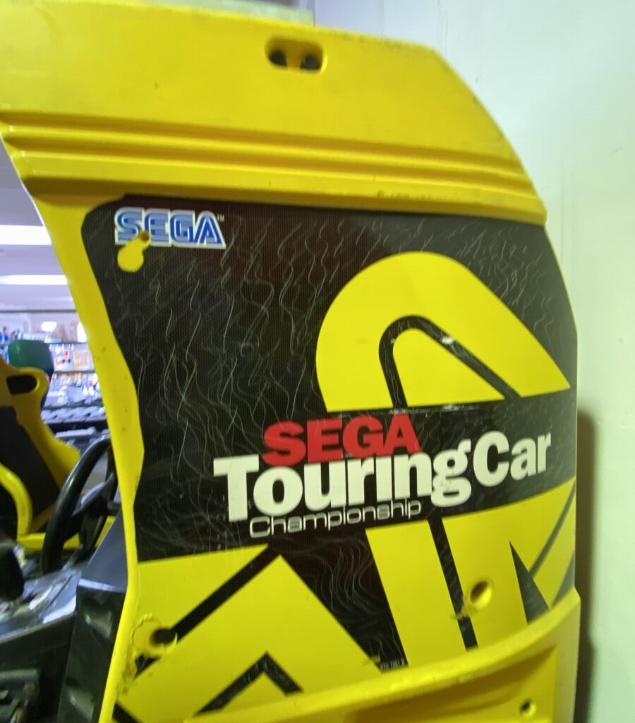 MOBILE SEGA TOURING CAR CHAMPIONSHIP DOPPIO CABINATO PER RICAMBI