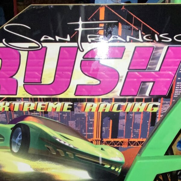 ATARI SAN FRANCISCO RUSH EXTREME RACING