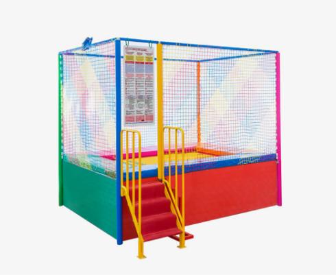 Tappeto elastico singolo usato fiera per bambini